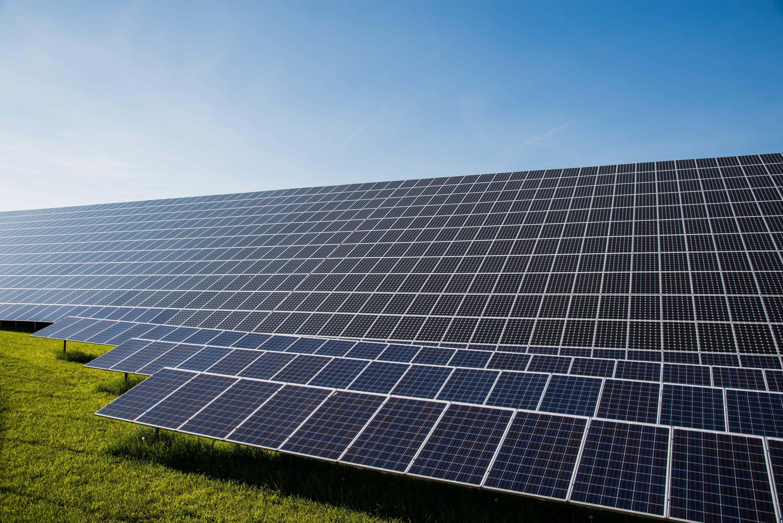 Solar Investment Grünfläche